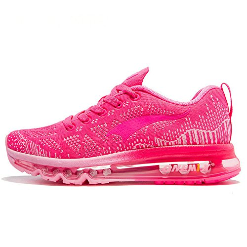 running Red Air shoes Lightweight Sport Womens Rose Outdoor Cushion Onemix gHqpwqf