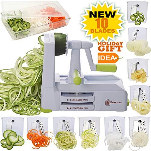 Top 10 best spiral slicer vegetable spiralizer handheld cutter for 2020