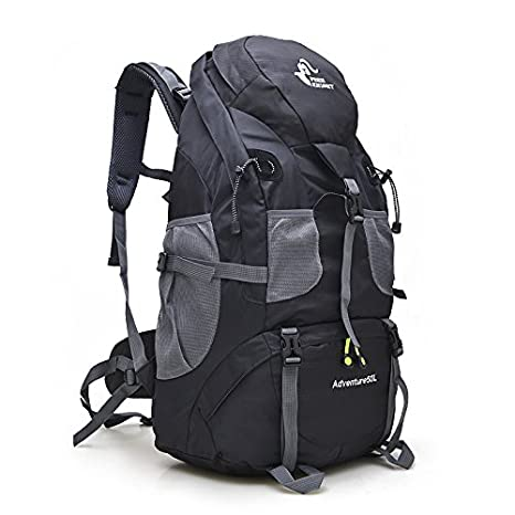 Free Knight 50L Hiking Daypacks Hiking Travel Backpack Camping Rucksack  (Black) 251b39b397f1c