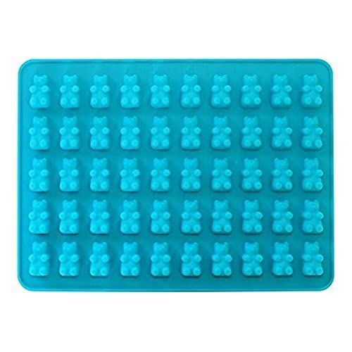 VolksRose Silicone Mould for Chocolate, Jelly and Candy etc - 50 bear