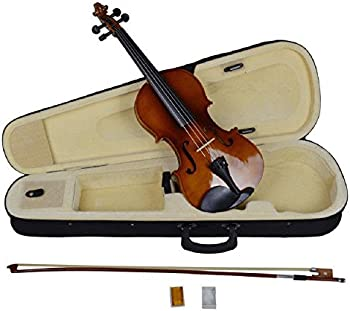 4/4 Full Size Natural Acoustic Wood Color Violin