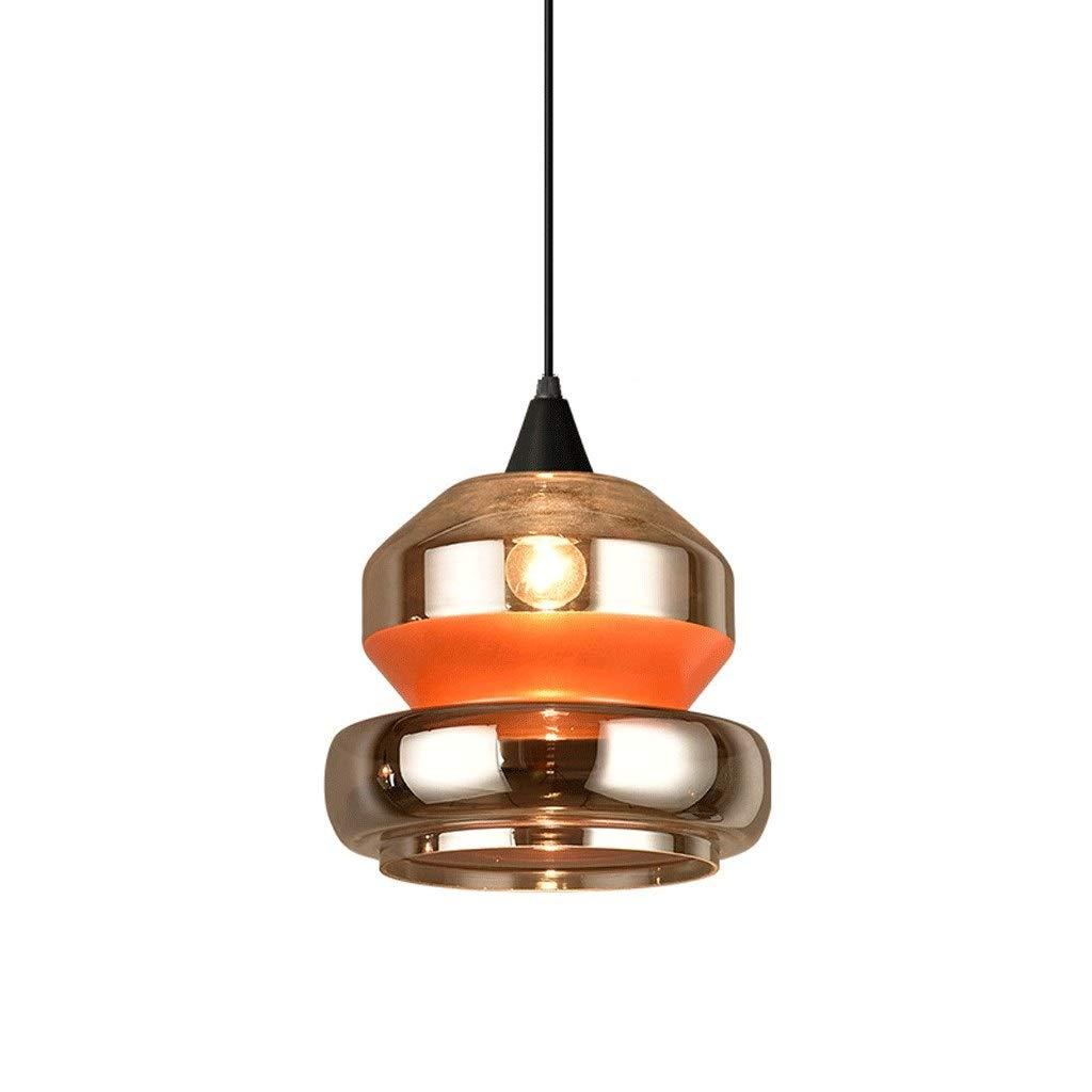 北欧インダストリアルスタイルのレストランライトクリエイティブ人格通路ライトバーテーブルレトロ寝室ガラスベッドE 27シャンデリア照明 (Size : Style A) B07SVYZG8X  Style A
