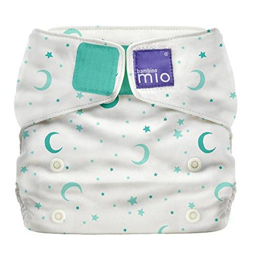 Bambino Mio, Miosolo All-in-One Cloth Diaper, OneSize, Sweet Dreams (Mio Liners Bambino)