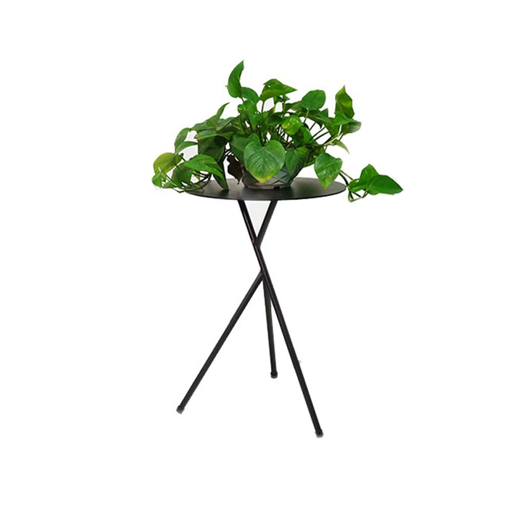 Plant Stand Plant Stand Coffee Table Tea Table Sofa Side Tatami Coffee Table Simple Small Table Coffee Table Creative Classical Small Round Table Flower Pot Flower Display Stand