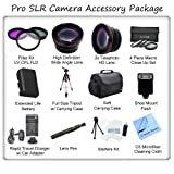 Ultimate Camera Accessory Package For The Panasonic Lumix DMC-LX5 DMC-LX7 Digital Cameras. Includes 3 Piece Filter Kit, Wide Angle Lens, Telephoto Lens, 4 Piece Macro Close Up Set, Soft Carrying Case, Full Size Tripod, Panasonic BCJ13 Replacement Battery,