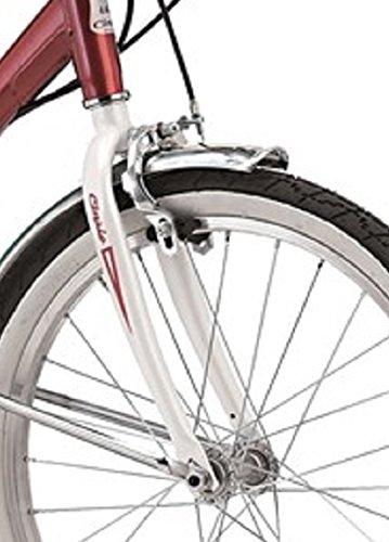 Cicli Cinzia Firenze - Bicicleta plegable, cuadro de acero, ruedas de 20