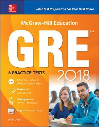 McGraw-Hill Education GRE 2018 (Mcgraw Hill Education Gre Premium)
