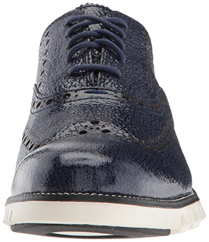 Cole Haan Men's Zerogrand II Oxford Marine Blue Bubble Patent/Ivory free shipping best discount footlocker pictures sale big discount cheap sale pay with visa JGJlq