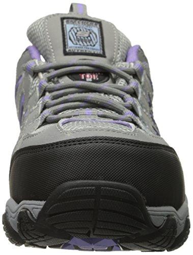 Toe Escursionismo Scarpe Dark Lavoro Blais 76570 athol Skechers Gray Acciaio fqRXx