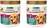 240-Count NaturVet Glucosamine DS Plus Level 2 Moderate Joint Care Soft Chews for Dogs and Cats (2 Jars with 120 Chews Each)