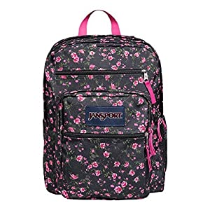 JanSport Big Student Classics Series Daypack - Pink Rose Ditzy Backpack
