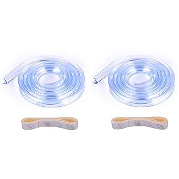 2 x 1M Eckenschutz Kantenschutz für Baby Kindersicherung Tisch Möbel Schutzecken