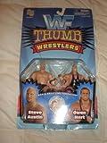 : WWF Thunder Wrestlers Steve Austin Vs Owen Hart By Jakks Pacific