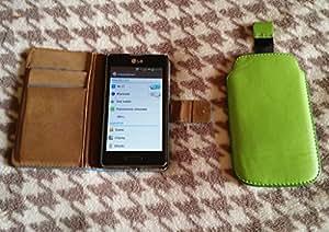 """LG Optimus L5 II - Smartphone libre Android (Pantalla 4"""", cámara 5 Mp, 4 GB, 1 GHz, 512 MB RAM), negro (importado)"""
