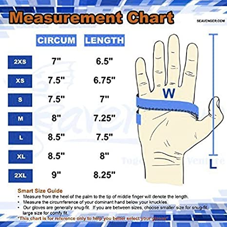 with Elastic Wrist Band 3mm /& 5mm Neoprene for All Watersports Boating Cleaning gutters Pond and Aquarium Maintenance Dark Lightning Scuba Diving Gloves for Men and Women