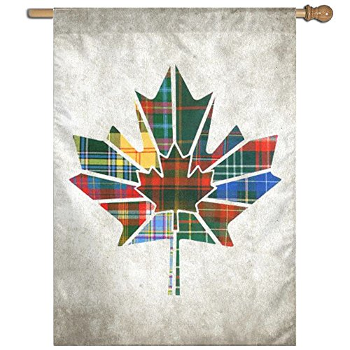 ESP Maple Leaf Canada Fluttering Seasonal Yard Garden Flags