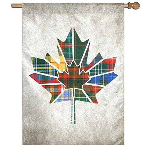ESP Maple Leaf Canada Fluttering Seasonal Yard Garden Flags