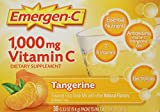 Emergen-C Supplement 1,000 MG Vitamin C Drink Mix, Tangerine Flavor, 9.4g 30 Packets each (Pack of 3) Review