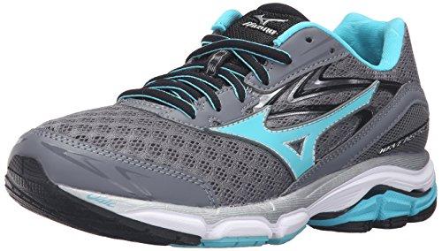 Mizuno Women's Wave Inspire 12-w Running Shoe, Quiet Shade-Capri, 8 B US