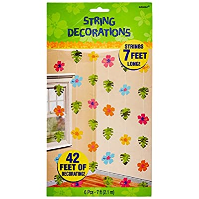 Amscan Hibiscus Foil Party String Decorating Kit: Kitchen & Dining