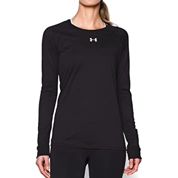 Amazon.com: Under Armour Women's Locker Long Sleeve T-Shirt ...