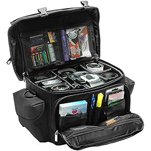 Precision Design 2000 Digital SLR Camera System Case/Gadget Bag for Canon EOS 6D, 7D, 70D, 5D Mark II III, Rebel T3, T3i, T4i, T5i, SL1 by PRECISION DESIGN