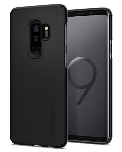 new style 2b010 874f0 Spigen Thin Fit Designed for Samsung Galaxy S9 Plus Case (2018) - Black