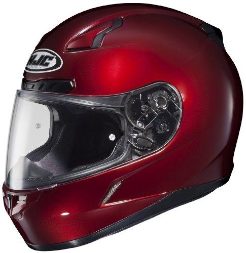 HJC CL-17 Full Face Motorcycle Helmet Wine X-Small