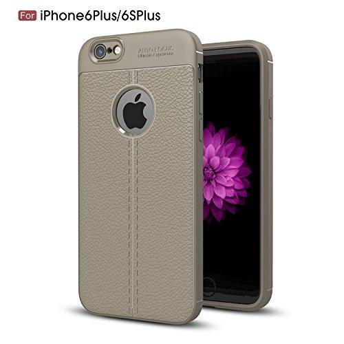 inShang funda para iPhone 6 / 6s 4.7 inch funda del teléfono móvil, anti deslizamiento, ultra delgado y ligero, Estuche, Cubierta, carcasa suave hecho en el material de la TPU, cómodo Case Cover for i Grey