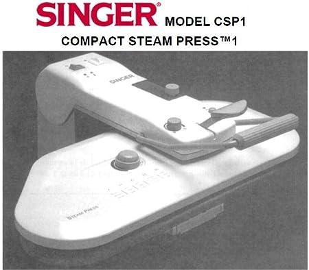 Descargar Pdf-File Singer CSP1 PRO6S El Iron máquina de coser ...