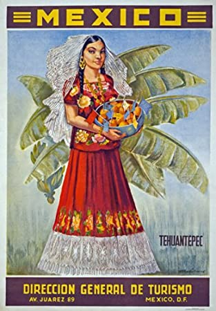 TX12 Vintage 1950/'s MEXICO Veracruz Mexican Travel Poster Re-Print A1//A2//A3