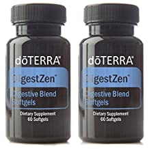 doTERRA DigestZen Essential Oil Digestive Blend 60 Softgels by doTERRA
