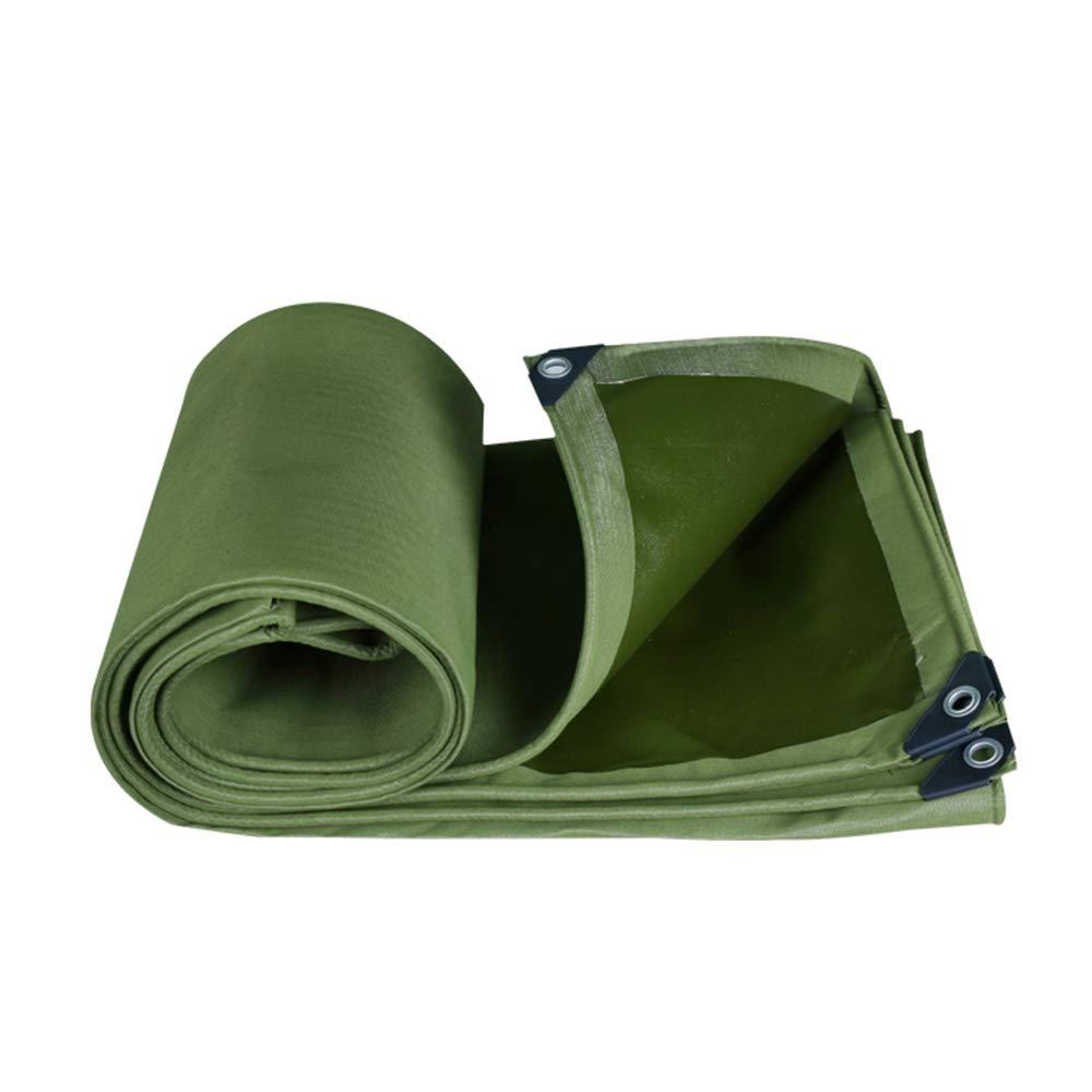 FEI Wasserdichte Plane Verdicken Sie regensichere Plane Shade Tarp Ground Sheet Covers Zelt Shelter Canvas Durable Heavy Duty verstärkt Outdoor, 650g   m² - 0,75 mm professionelle Deckung   Plane