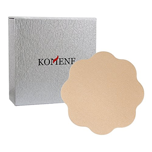 Komene Pasties - Reusable Adhesive Nipple Covers Flower (free size, Skin)
