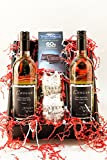 Frisky & Flirty Semi-Sparkling White Wine and Chocolate Gift Set, 2 x 750 mL