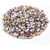 Jollin Hot Fix Flatback Rhinestones Glass Diamantes Gems For Nail Art Crafts Decorations Clothes Shoes 4.8mm (20ss…
