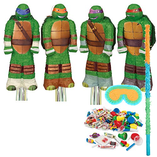 3D Ninja Turtles Pinata Kit