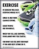 Unframed Exercise Fitness 8