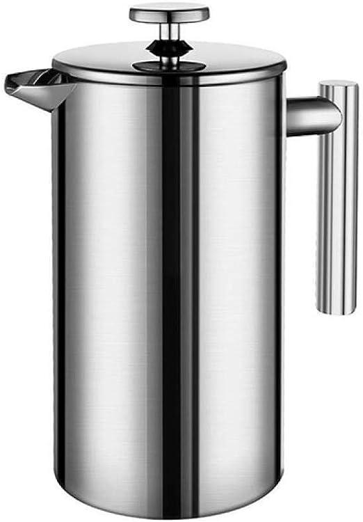 Hokaime Cafetera Prensa Francesa Máquina de café Espresso de Acero ...