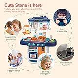 CUTE STONE Little Kitchen Playset, Kids Play