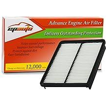 EPAuto GP881 (28113-2P100) Hyundai / KIA Replacement Extra Guard Rigid Panel Engine Air Filter for Azera (2013-2016), Sonata (2011-2014), Santa Fe (2010-2012), Optima (2013-2015), Sorento (2011-2013)