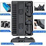BEBONCOOL PS4 Stand Cooling Fan for PS4 Slim