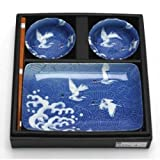 Cranes 6 Piece Dinnerware Set (Set of 6)