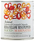 Roland Foods Peppers, Marinated Sliced Red and Yellow, 28 Ounce