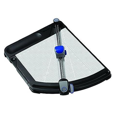 X-ACTO PivotCut Innovative Trimmer, Precision Cut, Rotary Trimmer, Black (26205) (X Acto Rotary Trimmer)