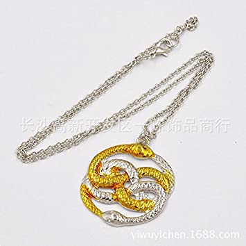 The neverending story auryn necklace atreyu snake by daozhang the neverending story auryn necklace atreyu snake by daozhang mozeypictures Choice Image