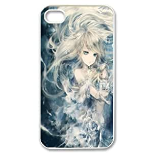 C-Y-F-CASE DIY The Little Mermaid Pattern Phone Case For Iphone 4/4s hjbrhga1544