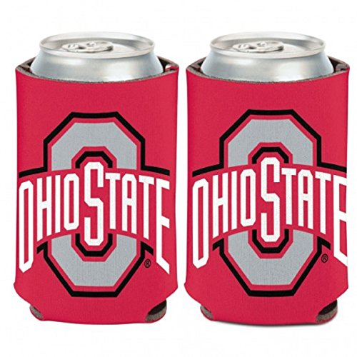 (WinCraft NCAA Ohio State University 74130014 Can Cooler, 12 oz)