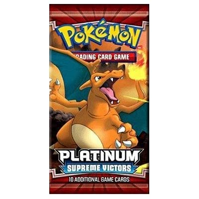 Pokemon Card Game Platinum Supreme Victors Booster Pack [Toy]: Toys & Games