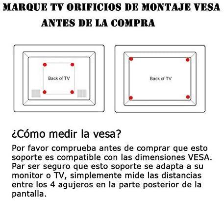 BPS- Soporte para TV Pared Inclinable para Televisor 32-55 ...